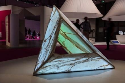 """Marble Star"". Studio: Eduardo Castillo; company: Elite Stone; material: E-Light Marble."