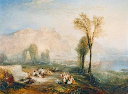 "William Turner: ""Ehrenbreitstein"" (1835). Photo: Wikimedia Commons."