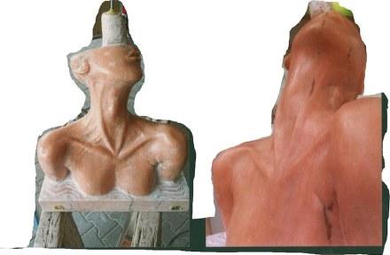 """Die Gute Form"": Vitus Matz, 3. prize (stonemasonry with focus on stonesculpting)."