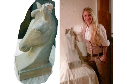 """Die Gute Form""; Kim Hiller (stonemasonry with focus on stonesculpting)."