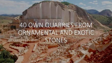 One of Guidoni's quarries in Brazil. Photo from a company brochure