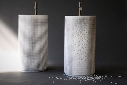 "<a href=""http://www.antoniolupi.it""target=""_blank""> Antonio Lupi</a>, Design Paolo Ulian: ""Pixel""."