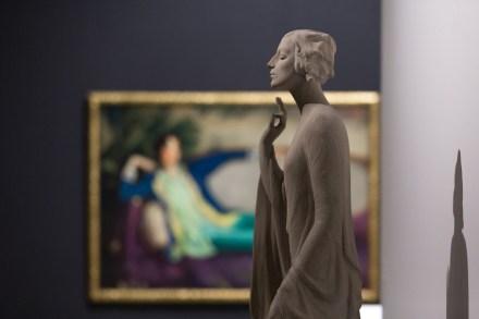 "Exhibition ""Gertrude Vanderbilt Whitney: Sculpture"" in Norton Museum."