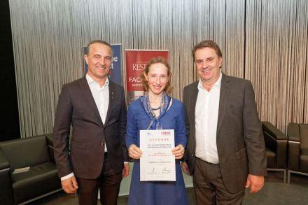 Preisträgerin Gabriele Stuhlberger.