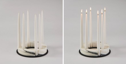 "Studio Lievito, candle holder ""Circondo""."