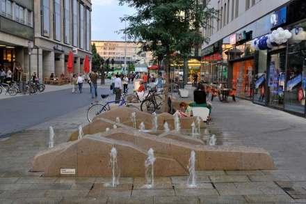 Leipzig, Grimmaische Straße.