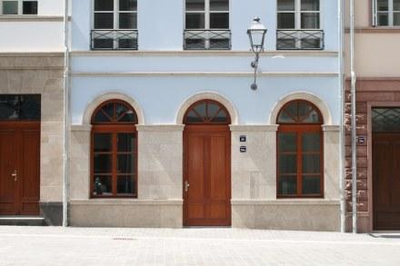 "House ""Eichhorn"", reconstruction."
