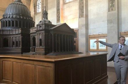 Behind the scenes' tour of St Paul's Cathedral. Photo: Euroroc