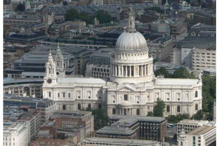 St. Paul's Cathedral. Photo: Mark Fosh / Wikimedia Commons