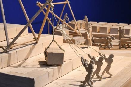 """Ausstellung """"Faszination Pyramiden"""" im MAMUZ in Mistelbach, Niederösterreich."""