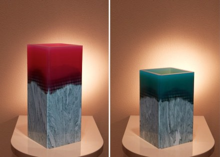 "Budri, Patricia Urquiola: vases ""Orilla"" from ""Agua"" collection."