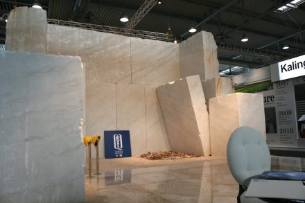 "Not only for artists, but also for the customer the Quarry is the greatest attraction of the stone world. At Marmomac 2014, Sardinian company <a href=""http://www.bsquarrysar.com/""target=""_blank"">Quarrysar Group</a> showed the moment when a large block is loosened from the mountain."