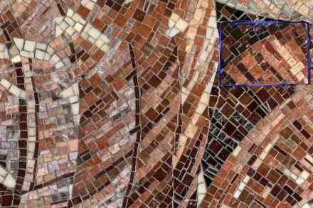 """Mosartec"" by Friul Mosaic and Alberto Apostoli."