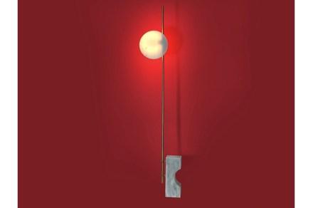 "Chris Basias, ""Essorropia"", floor lamp ""Wadd""."