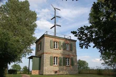 Die Telegraphenstation Neuwegersleben war die Nummer 18 von insgesamt 62 Stationen der königlich-preußischen optischen Telegraphenlinie Berlin-Koblenz. Sie war in der Zeit von 1833 bis 1849 in Betrieb. Foto: Marlies Müller