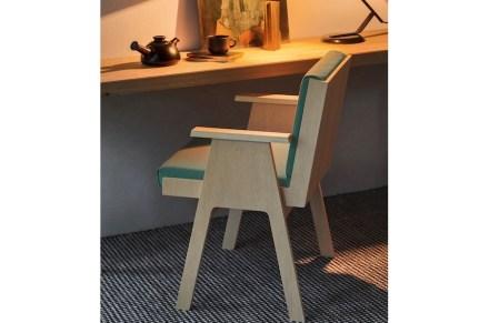 "Angelo Mangiarotti: chair ""Club44""."