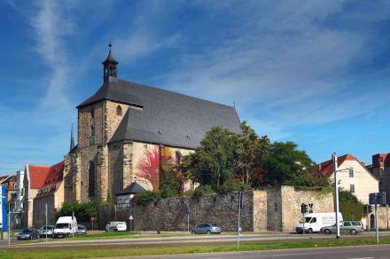 "Die Moritzkirche in Halle. Foto: White Shark / <a href=""https://commons.wikimedia.org/""target=""_blank"">Wikimedia Commons</a>"