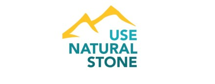 Logo of the campaign Use Natural Stone.