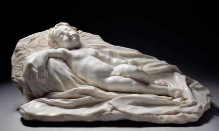 "Filippo Parodi: ""Sleeping Christ Child""."