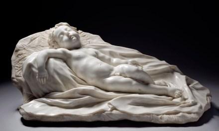 """Filippo Parodi: """"Sleeping Christ Child""""."""