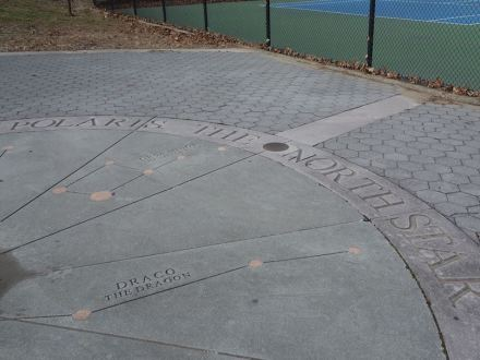 "Astronomy-themed artwork in St. Albans Park in Queens, N.Y.C. Photo: Tdorante10 / <a href=""https://commons.wikimedia.org/""target=""_blank"">Wikimedia Commons</a>"