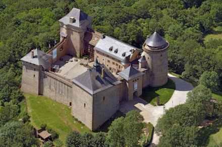 Château de Malbruck, Manderen, Lothringen. Foto: Hajo Dietz / Historisches Museum Saar