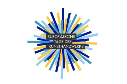 Das Logo der Europäischen Tage des Kunsthandwerks.