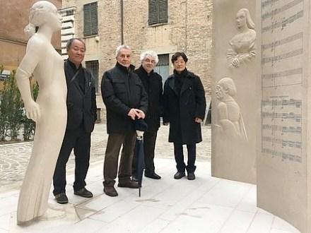 """Giuliano Vangi: """"Scultura della Memoria""""."""