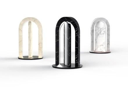 "<a href=""http://www.citco.it/""target=""_blank"">Citco</a>: ""Somma light table"" table lamp. Design: Fabrizio Bendazzoli."