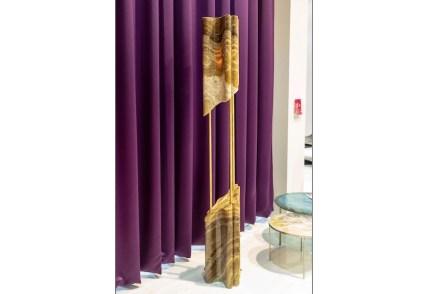 "<a href="" https://www.aatc.it/""target=""_blank""> A.A.T.C.</a>: ""Karim in Marble"" (standing lamp). Design: Karim Rashid."