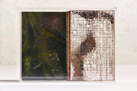"Sculpture ""Pedra Cobre Perda"" series. Artist: Hilal Sami Hilal, Company: Corcovado Brasigran. Stone: quartzite Greenpeace."