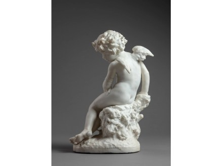 """Jean-Baptise Carpeaux: """"Wounded Cupid""""."""