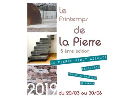 Printemps de la Pierre 2019.