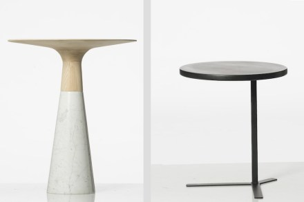 "Luca Giacomelli, <a href=""http://www.studionove3.com/""target=""_blank"">Studio Nove 3</a>: ""Luna"" (left), ""Xenia"" (right)."