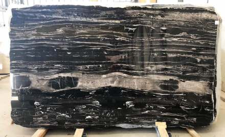 Original slab: Black Dune Marble from Tino company.