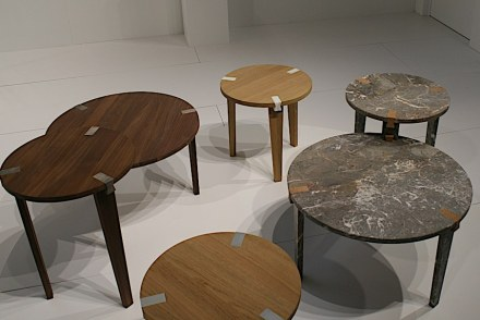 "Olivier Vitry: ""Modular Tables""."
