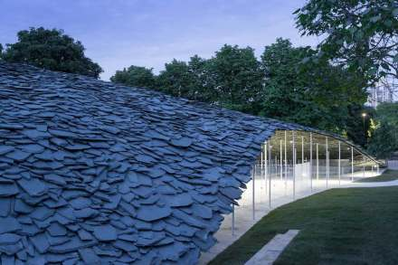 The Serpentine Pavilion 2019. Photo: Iwan Baan