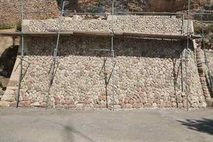 Trockenmauern auf Mallorca.