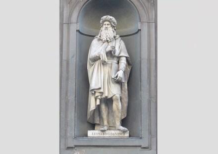 "Luigi Pampaloni: Leonardo da Vinci (1842). Foto: <a href=""https://commons.wikimedia.org/""target=""_blank"">Wikimedia Commons</a>"