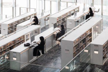 Qatar National Library. Photo: Delfino Sisto Legnani and Marco Cappelletti.