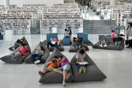 Qatar National Library. Photo: Hans Werlemann