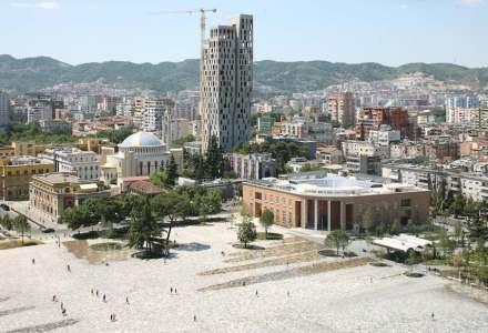 51N4E: Skanderbeg Square, Tirana.
