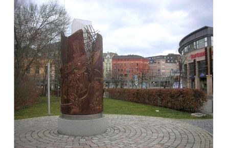 """The Reunification Monument Plauen. Photo: Straktur / <a href=""""https://commons.wikimedia.org/""""target=""""_blank"""">Wikimedia Commons</a>"""