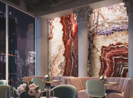 Wall panels by TechnoGrafica. Photo: Screenshot