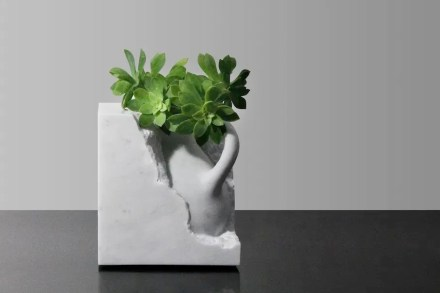 """Functional sculptures"" is a small but exclusive market for natural stone."