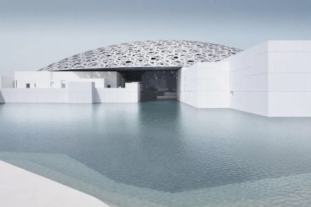 Architect Jean Nouvel: Louvre Abu Dhabi.