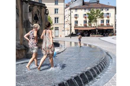 Special Jury Prize: Fountain in the Place de l'Atre in Epinal, Lorraine.