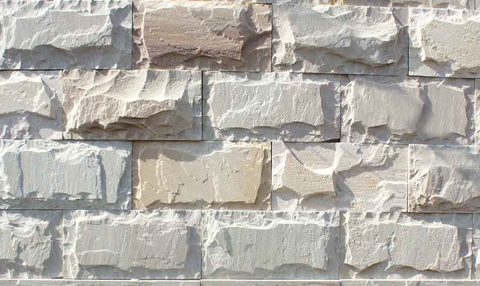 Natural Stone Bricks Tiles For Exterior Interior Elevation