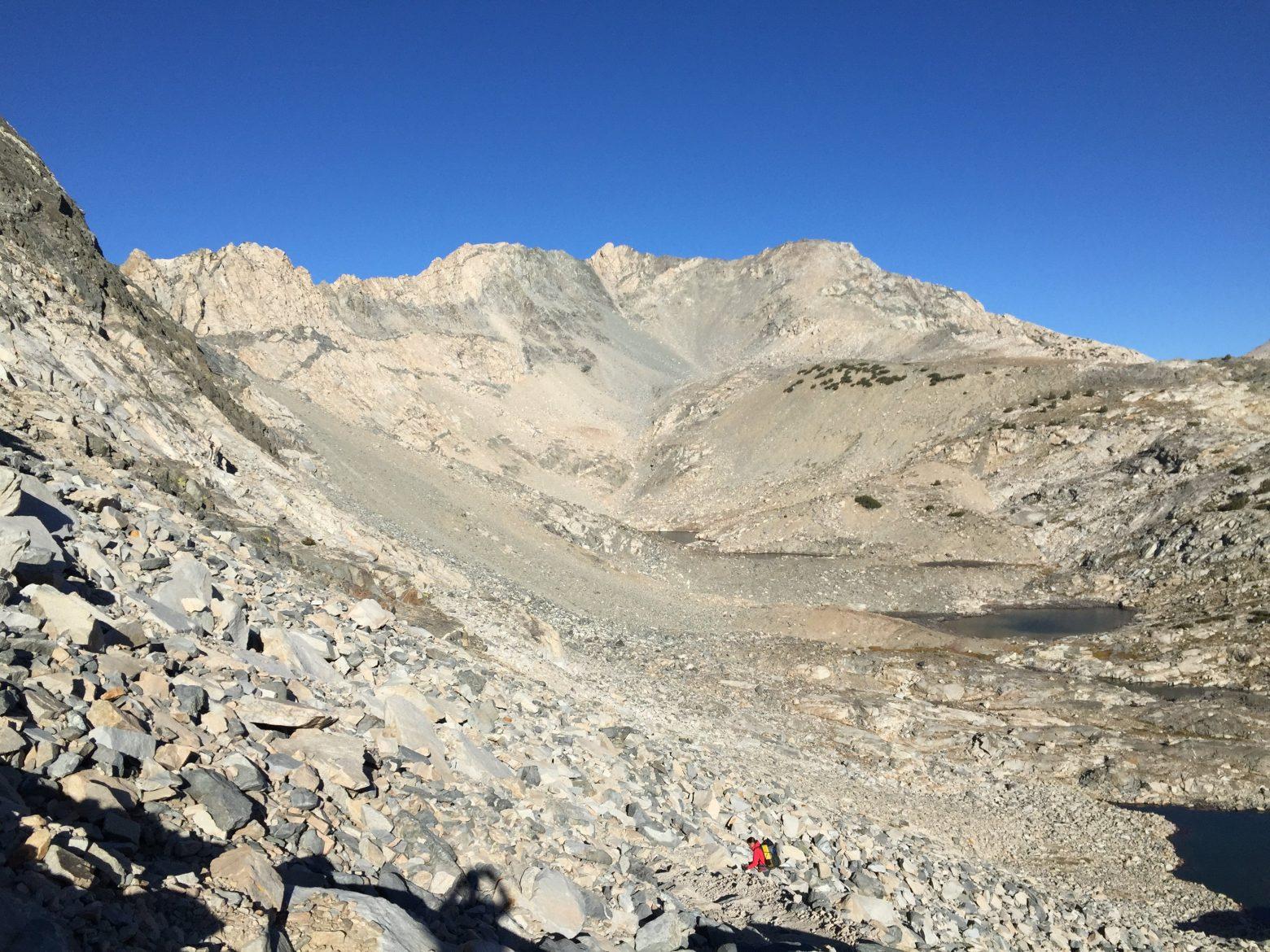 Climbing up to Glen Pass (3)