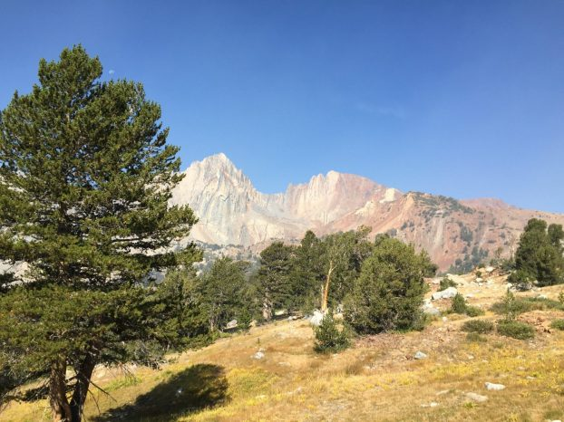 Coming down from Pinchot Pass (1)